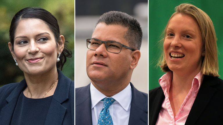 Priti Patel, Alok Sharma and Tracey Crouch are all tipped for promotions