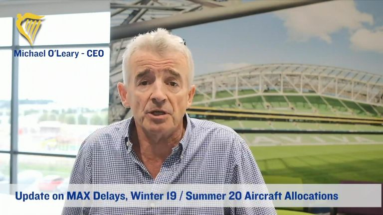"Ryanair CEO Michael O'Leary has told staff that job cuts are ""unavoidable"" as a number of factors impacted its growth plans for 2020."