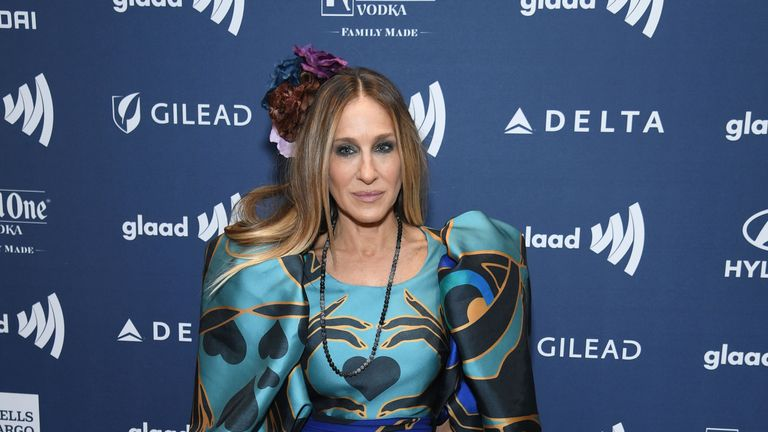 Sarah Jessica Parker attends the 30th Annual GLAAD Media Awards New York  at New York Hilton Midtown on May 04, 2019 in New York City