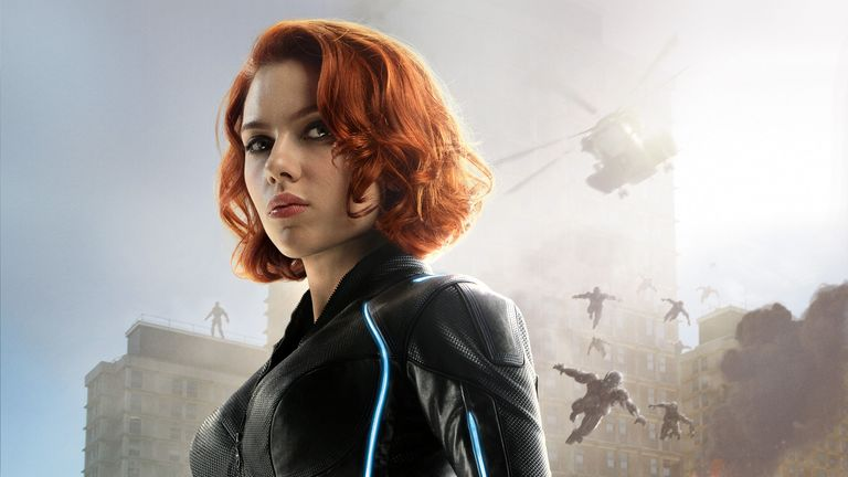 Scarlett Johansson as Black Widow in Avengers - Age Of Ultron