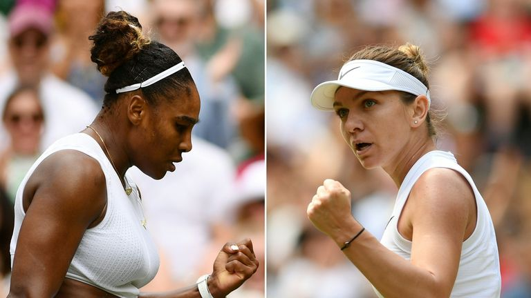 Williams and Halep