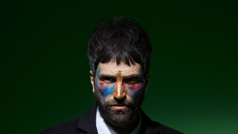 Kasabian's Serge Pizzorno launches his debut solo album as The S.L.P in September. Pic: Aitor Throup