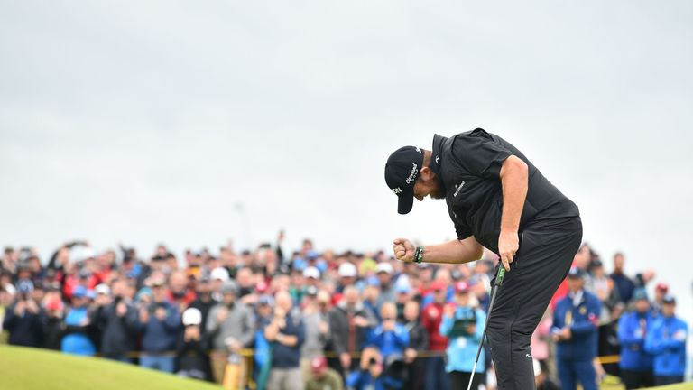Shane Lowry beat Tommy Fleetwood by six strokes