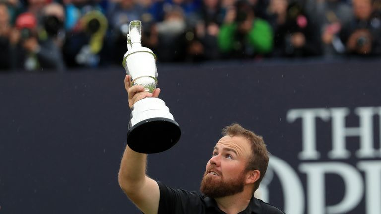 Lowry becomes the fifth Irish player to lift the Claret Jug