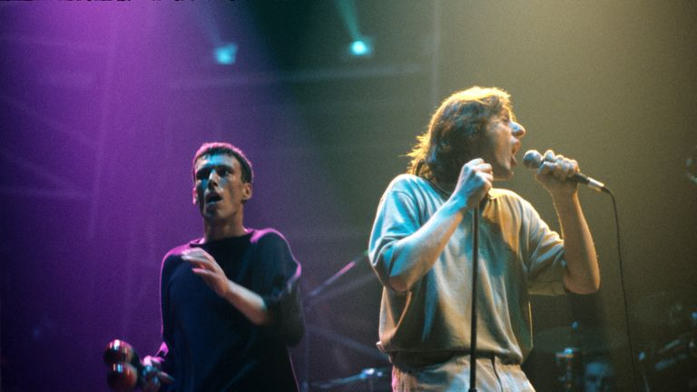 Happy Mondays, Shaun Ryder and Bez
