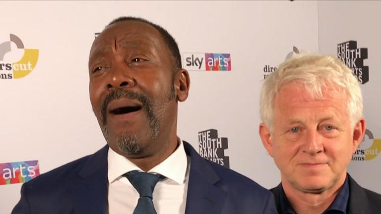 Sir Lenny Henry happy to receive award