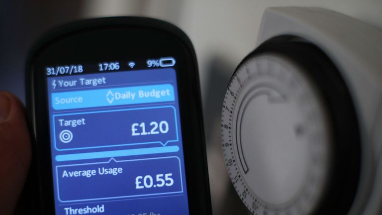 Customers complained after their smart meters changed to Welsh
