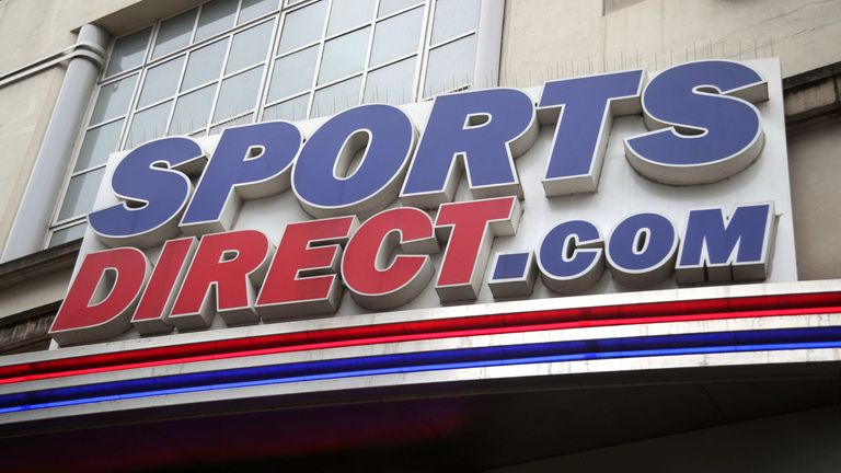 A branch of Sports Direct on Oxford Street, central London 29/5/2018