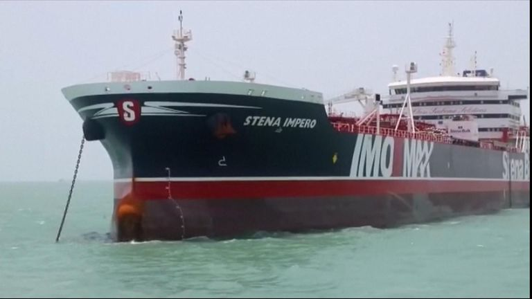 Hostile act': UK says ship seized by Iran was in Omani