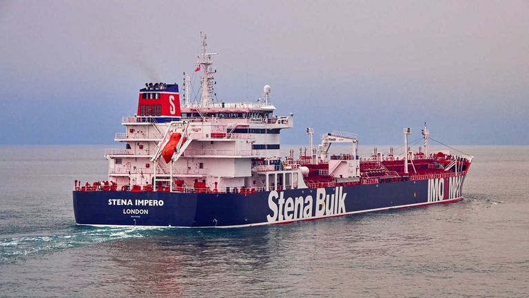 Foreign Office 'urgently investigating' Iran claims over seized tanker