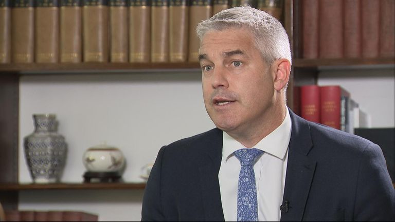 Stephen Barclay says he as stepped up preparations for a no-deal Brexit