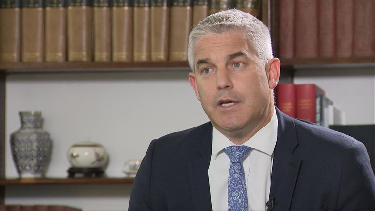 Stephen Barclay says government departments have been ordered to step up preparations for an EU withdrawal without an agreement.