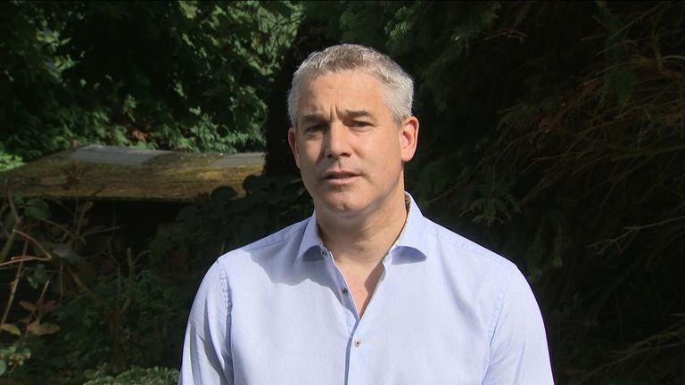 "Stephen Barclay tells Sky News the ""EU recognise it's in their interests to avoid no deal"" and ""both sides want to secure a deal""."