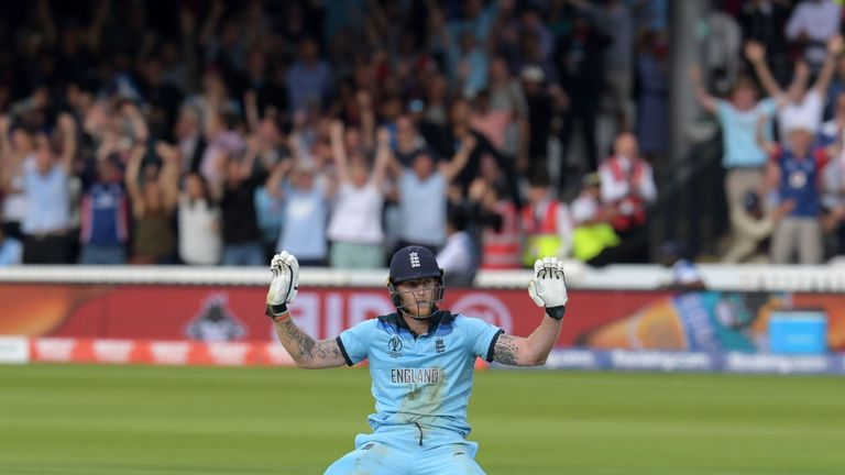 Stokes immediately apologises for what happened, knowing it means an extra four runs for England