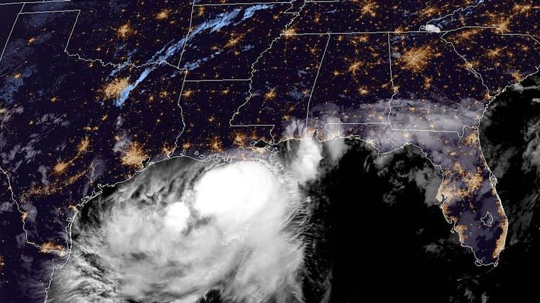 Tropical Storm Barry is expected to strengthen to a hurricane before reaching the Louisiana coastline