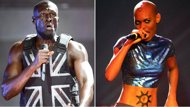 Stormzy and Skin
