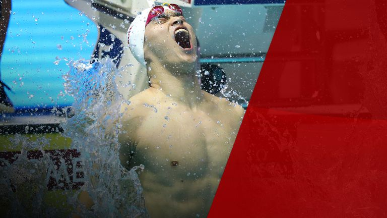 Sun Yang won the men's 400m freestyle final