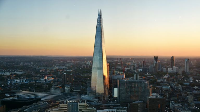 The Shard is one of the tallest buildings in Europe