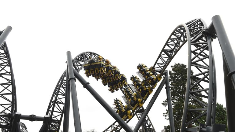 Alton Towers apologised for the fault. File pic