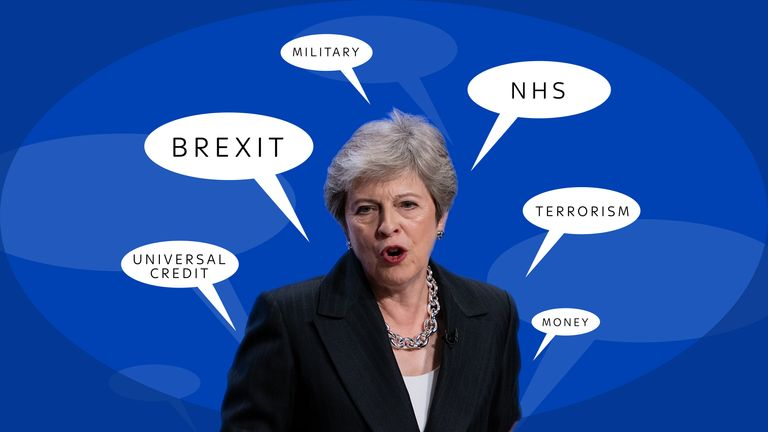 Theresa May talked about more than Brexit