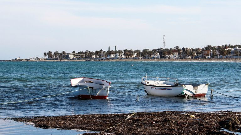 Tunisian coast near Zarzis. File pic