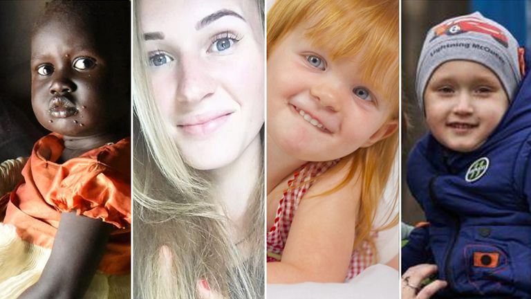 Four victims of not vaccinating