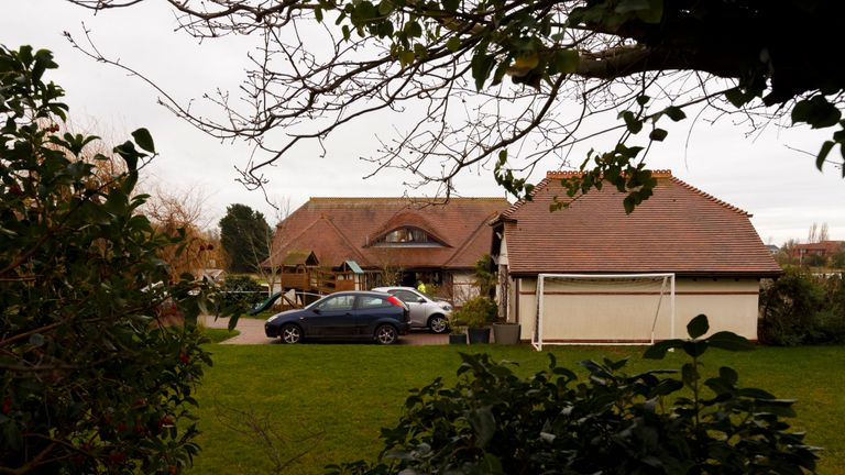 Valerie Graves was found dead in a mansion in Smuggler's Lane, Bosham