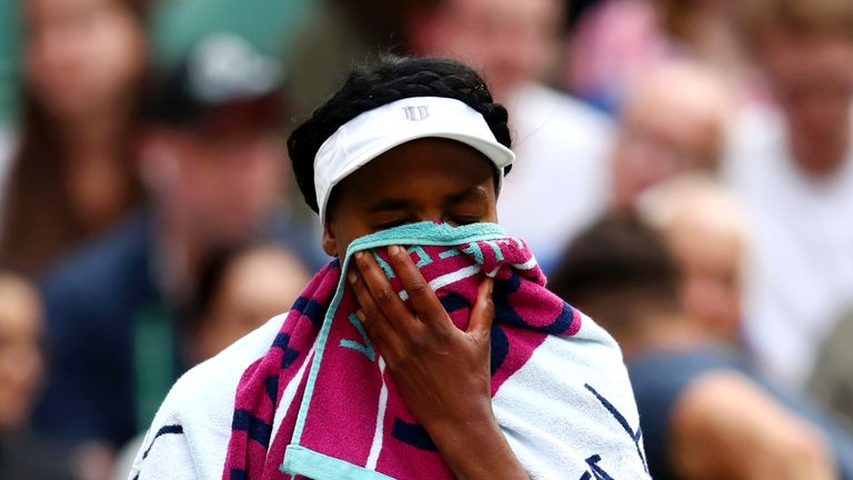 Venus Williams had won four Grand Slams - including two Wimbledon titles - before Gauff was born