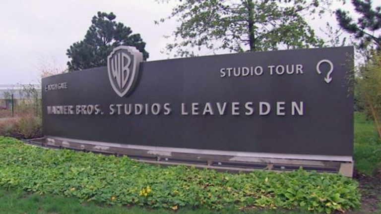 The stuntman was hurt during filming at Warner Bros Studios in Hertfordshire