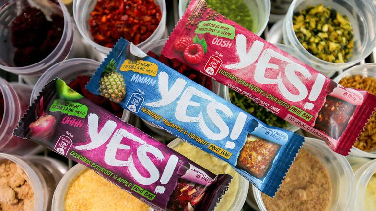 Nestle will use a high-speed 'flow wrap cold seal' process, which is a world first