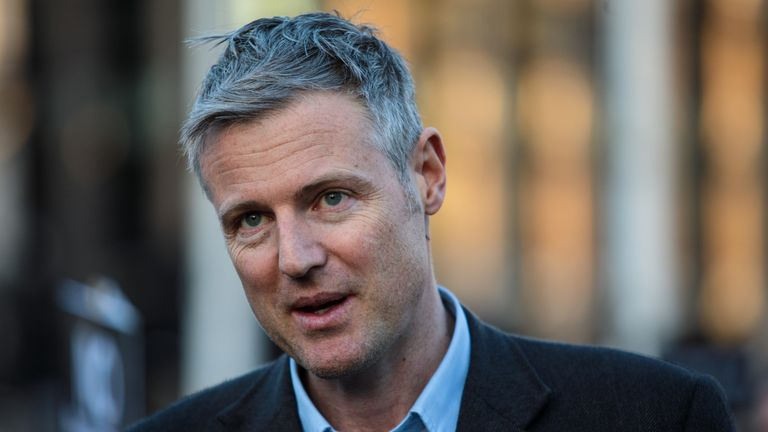 Conservative MP Zac Goldsmith is the uncle of Iris Annabel