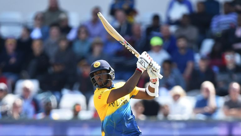 Watch the best of the action as Avishka Fernando's century led Sri Lanka to victory over West Indies in a thrilling World Cup clash.