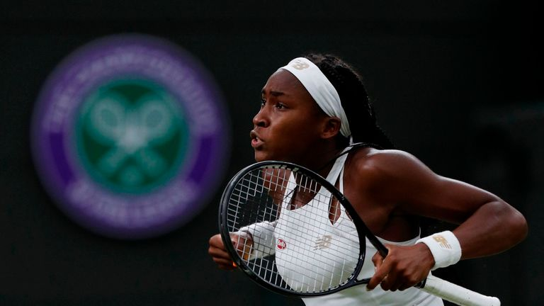 Cori Gauff backed up her victory against Venus Williams with another accomplished performance
