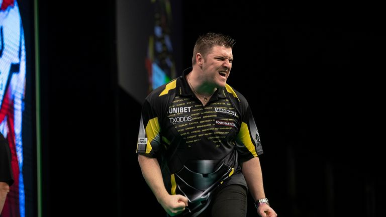 Daryl Gurney gets his Matchplay campaign underway