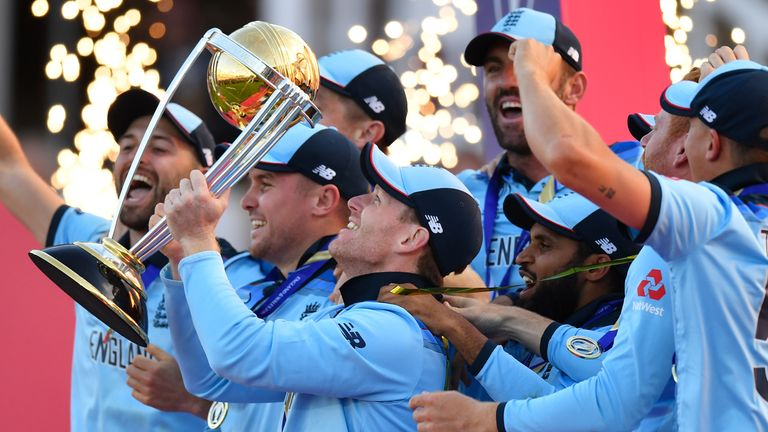 Ashley Giles, managing director of England men's cricket, says the thrilling World Cup final win over New Zealand will inspire generations to come