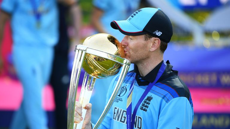 England captain Eoin Morgan reflects on his team's four-year journey which has taken them to World Cup glory