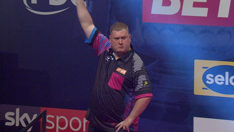 Wilson admits to spending a night out with Kettering-born darts star Ricky Evans