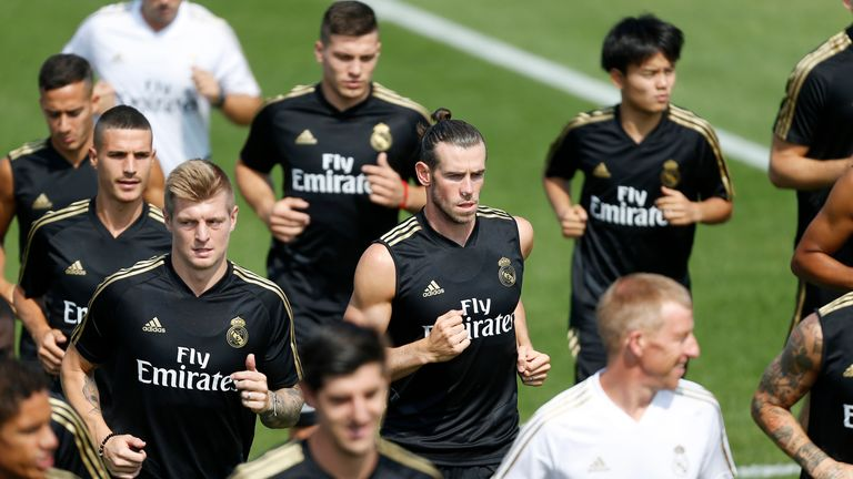 Real Madrid boss Zinedine Zidane says the club are in the process of arranging Gareth Bale's exit, but insists 'it's nothing personal'
