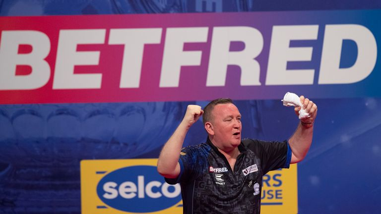 Glen Durrant knocked Michael van Gerwen out of the World Matchplay on a spellbinding night of darts in Blackpool