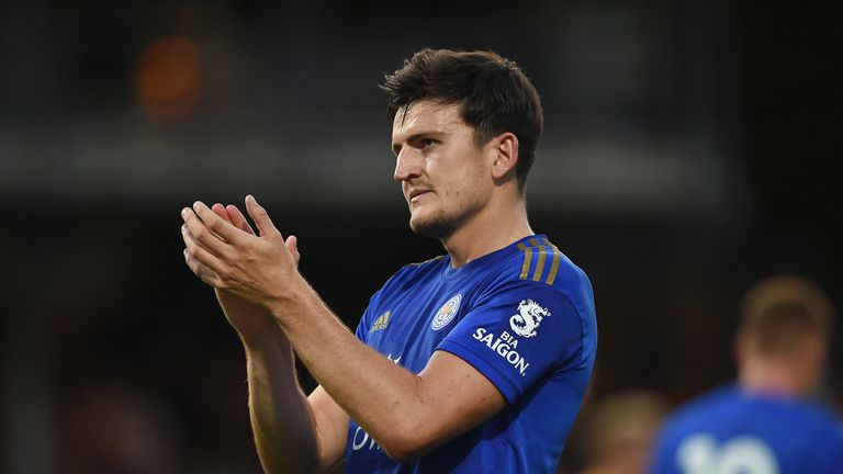 Wes Morgan says he is glad to have his Leicester team-mate Harry Maguire, amid interest from Manchester United