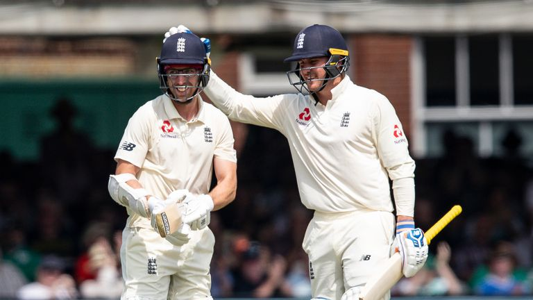 Watch highlights from day two of the Lord's Test between England and Ireland.