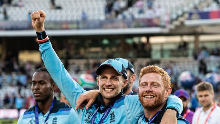 World Cup winner Joe Root reflects on an emotional and ultimately successful final at Lord's
