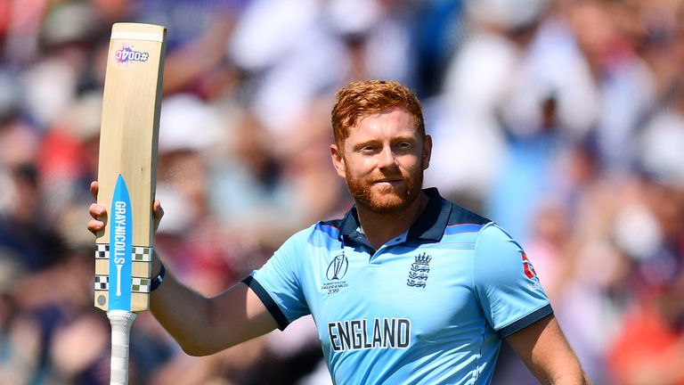 Jonny Bairstow scored a second-straight century as England clinched a semi-final spot with victory over New Zealand