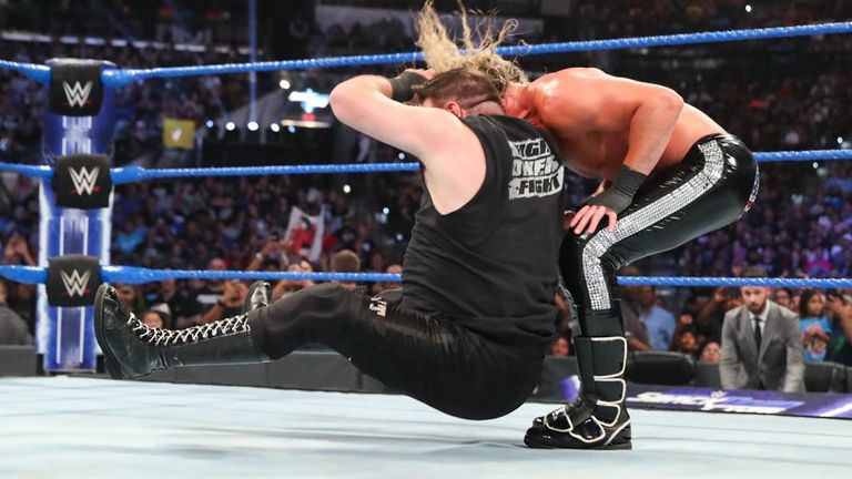 Kevin Owens hit Dolph Ziggler with a stunner after their defeat to Heavy Machinery last week