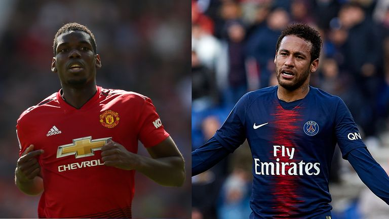 Football finance expert Kieran Maguire says any potential transfer fees for Neymar or Paul Pogba can be offset by the players' global brand appeal