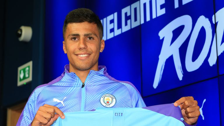 Rodri admits nerves before meeting Pep Guardiola for first time | Football News |