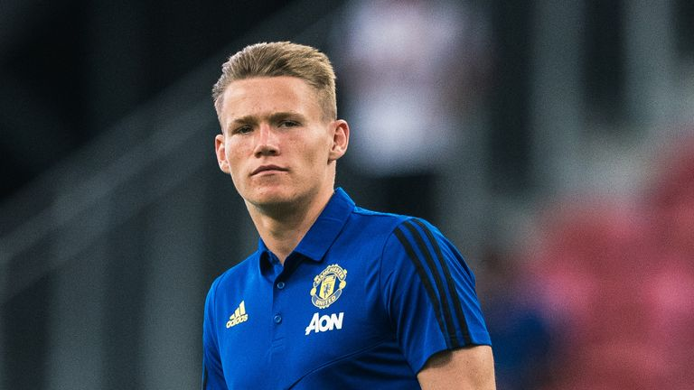Scott McTominay is aiming to be Manchester United's main midfield man this season.