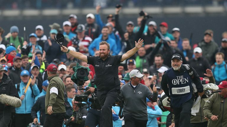Three-time open champion Gary Player hails Shane Lowry's victory at Royal Portrush as one of the greatest in the Championship's history