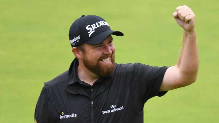 Highlights from Shane Lowry's four rounds at The Open which saw him claim a six-shot victory at Royal Portrush