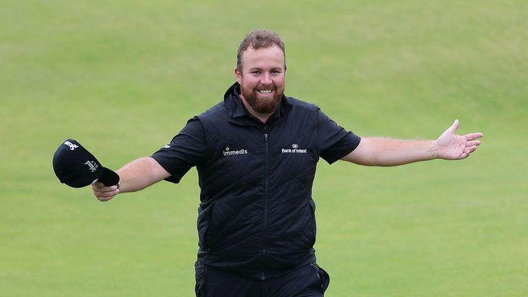 Shane Lowry wins The Open